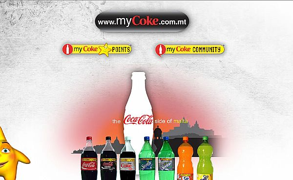 MyCoke - Star points online loyalty scheme