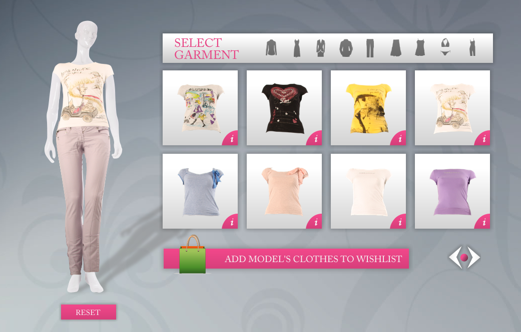 Virtual model returns to MyCoke's Diet Coke Virtual Couture!