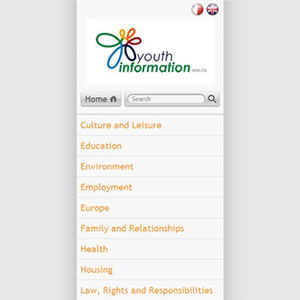 Youth Info - Mobile Portal