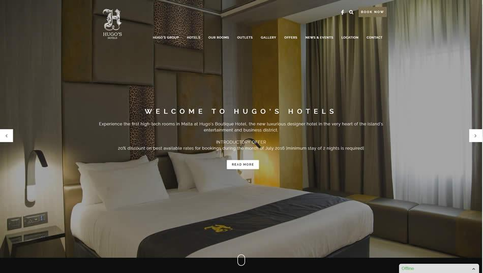 Hugo's Hotels - Home Page