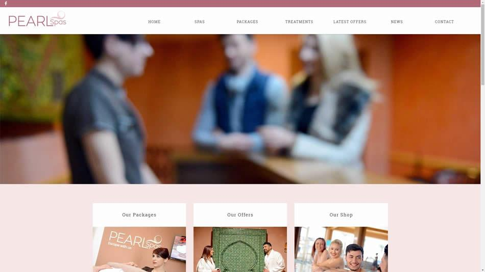 Pearl Spas - Home Page