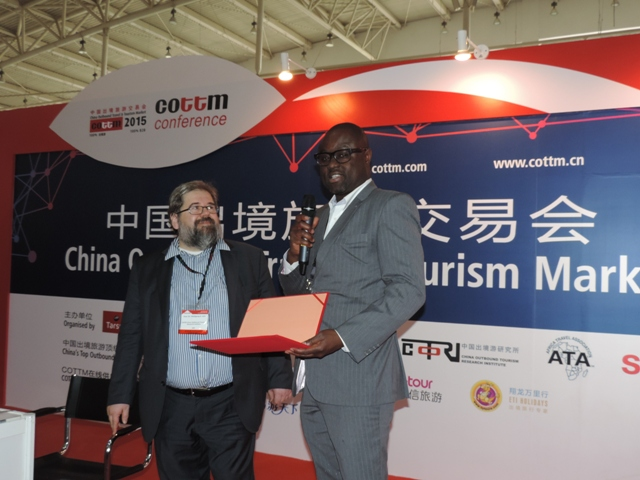 Ghana to increase tourism traffic from China to Ghana