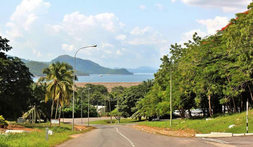 View of Akosombo Dam