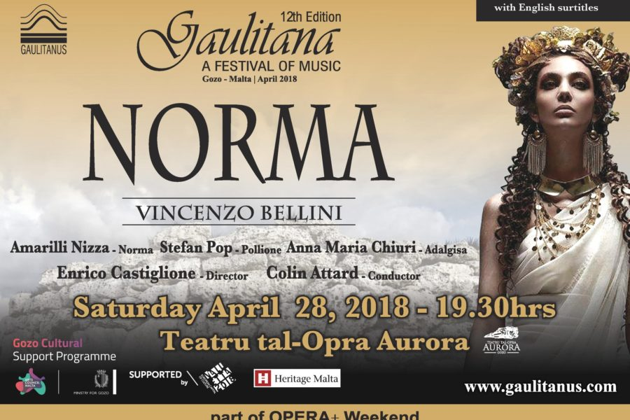 Cast announced for Norma Opera