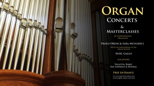 Organ Concert and Masterclass