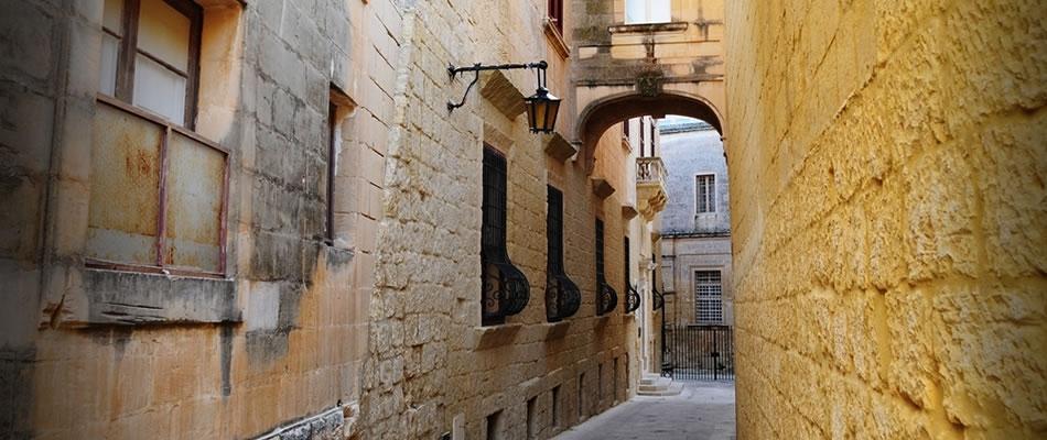Mdina Narrow Streets