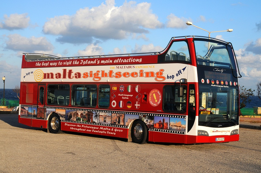 Hop On Hop Off Chicago Map.Malta Sight Seeing