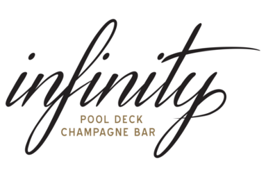 Infinity Pool Deck and Champagne Bar