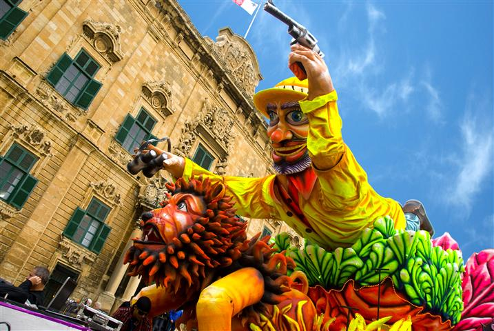 Carnival in Malta and Gozo!