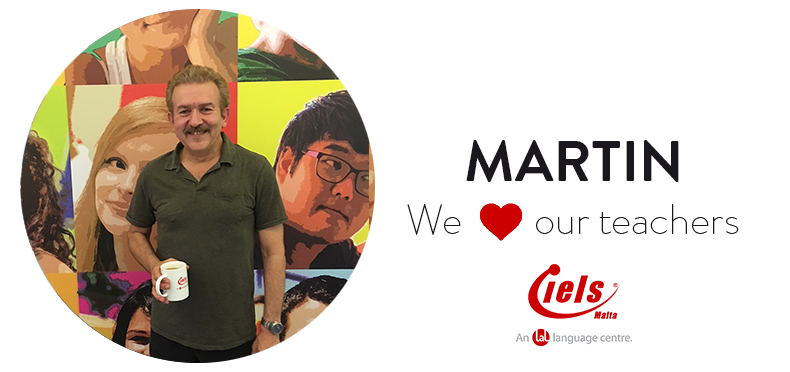 We ❤️ our teachers: Meet Martin!