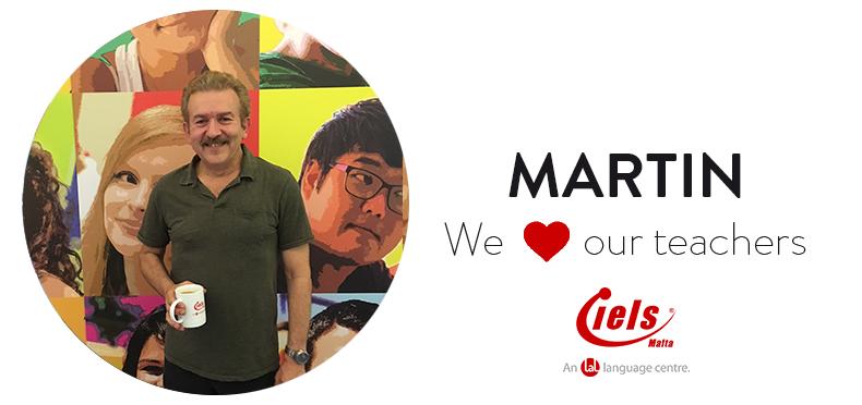 We ❤️ our teachers: Meet Martin!