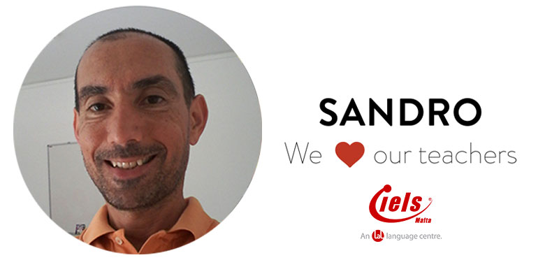 We ❤️ our teachers: Meet Sandro!
