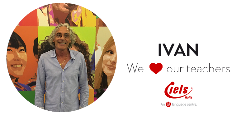 We ❤️ our teachers: Meet Ivan!