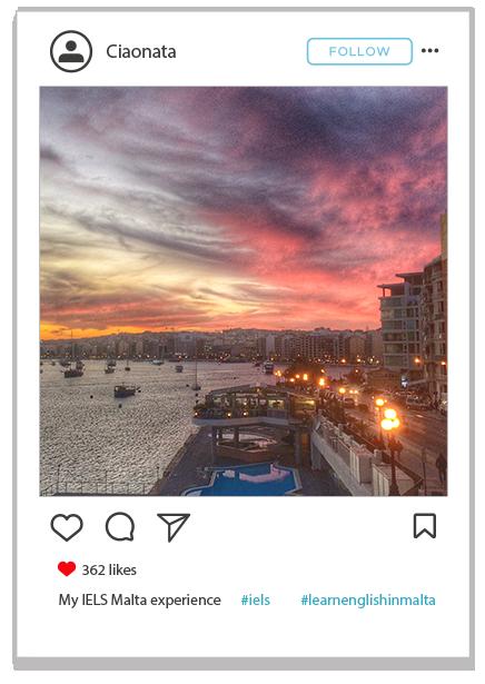 Sliema sunset
