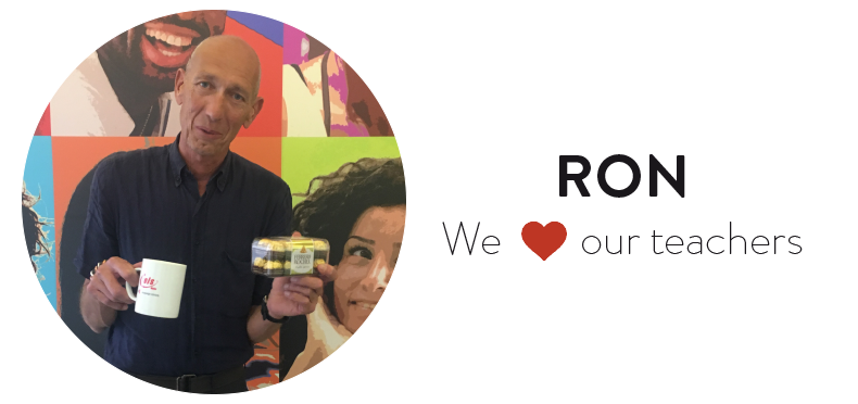 We ❤️ our teachers: Meet Ron!
