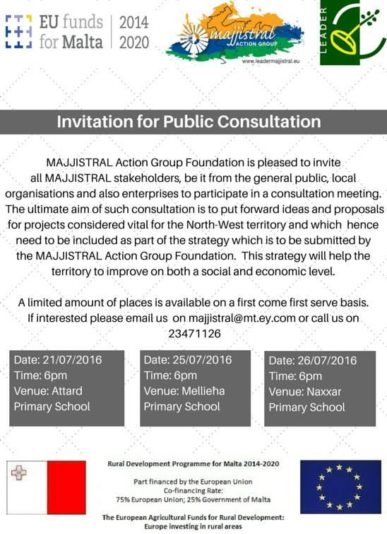 Majjistral Action Group Consultation Meeting