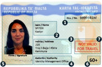 Renewal of Identity Cards for Mellieħa residents
