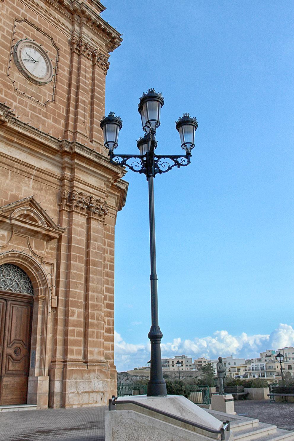 Mellieha Church New Lights