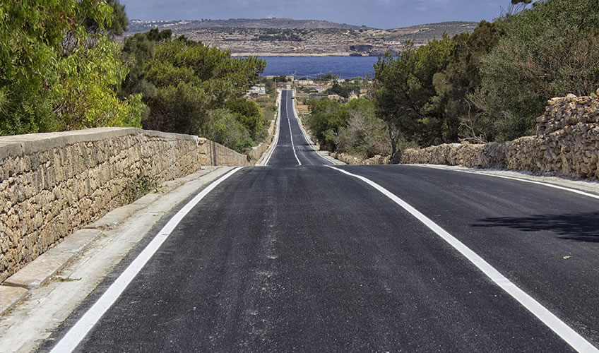 Works on Triq Ramlet il-Qortin