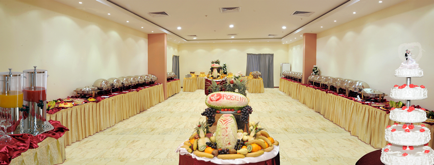 Rose Inn Al Waha Hotel - Jeddah - Dining Hall - Big Wedding Hall