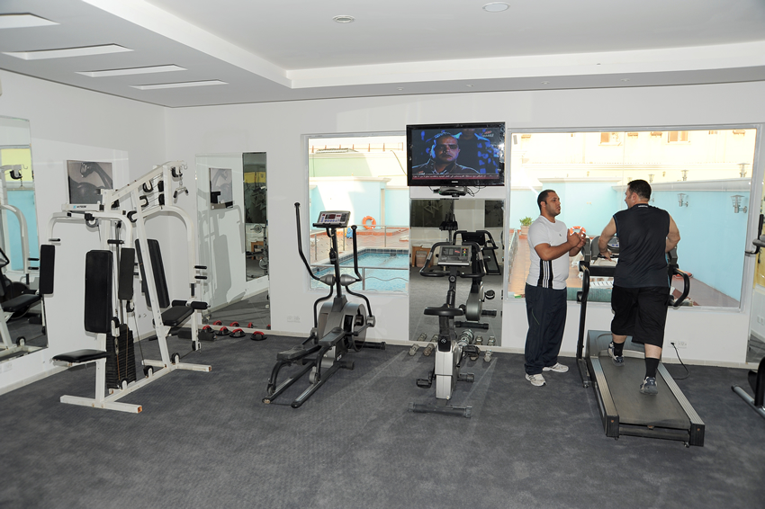Rose Inn Al Waha Hotel - Jeddah - Health Club