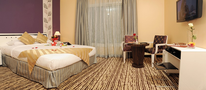 Rose Inn Al Waha Hotel - Jeddah - Honeymoon Suite