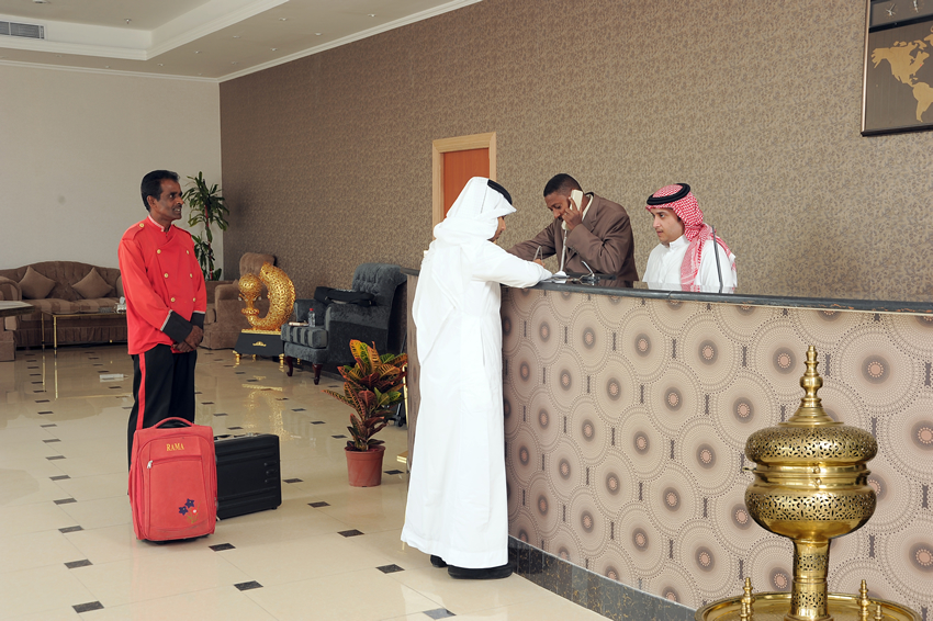 Rose Inn Al Waha Hotel - Jeddah - Reception