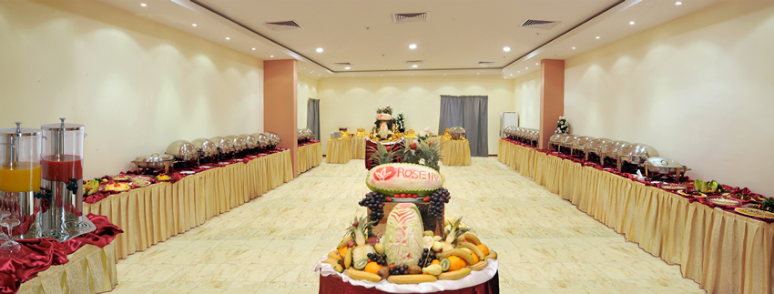 Rose Inn Al Waha Hotel - Jeddah - Dining Hall