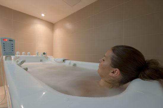 Hydro bath at Pearl Spa