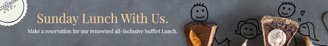 Sunday Buffet Lunches are Back