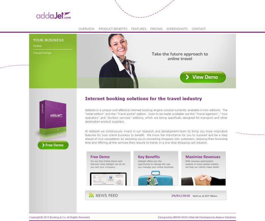 AddaJet website now online!