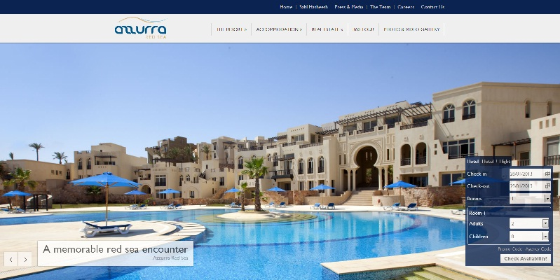 New website for Azzurra Red Sea