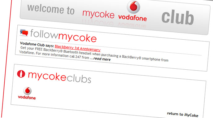 myCoke adds clubs to its platform