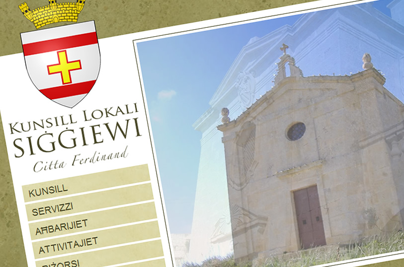 New Website for Siggiewi.gov.mt