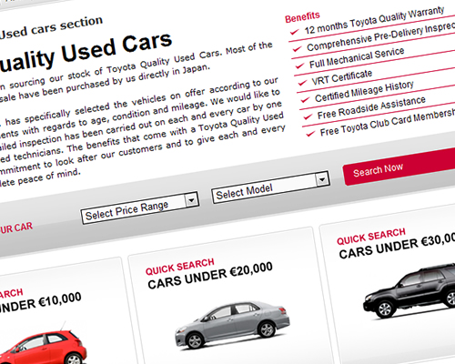 Toyota Used Cars application launched