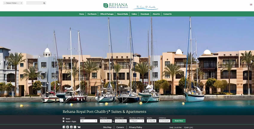 Al Rehana Hotels & Resorts - Home Page