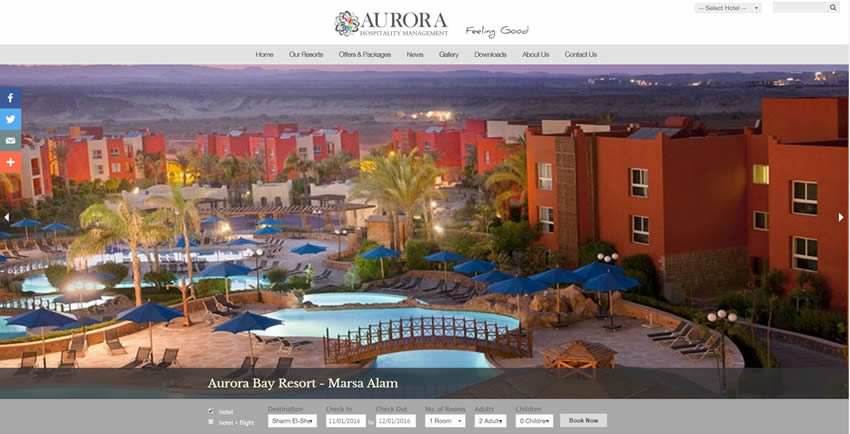 Aurora Hospitality Management - Home Page