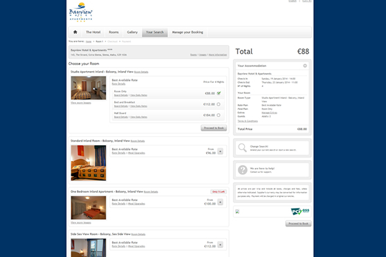 Bayview Hotel - Search Results