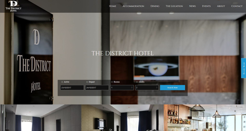 The District Hotel - Home Page