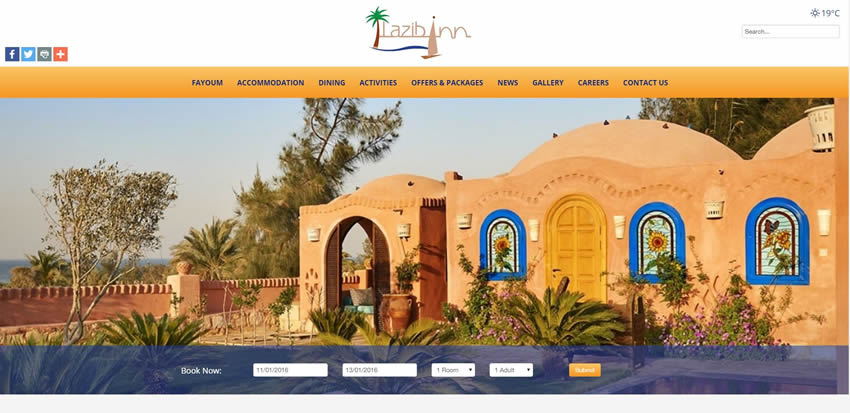 Lazib Inn Resort & Spa - Home Page