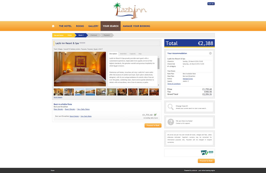 Lazib Inn Resort & Spa - Search Results Page