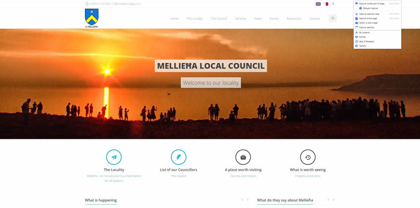 Mellieha Local Council - Home Page