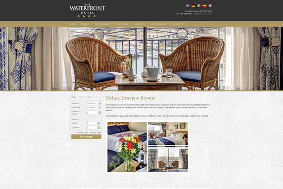 The Waterfront Hotel - Inner Page