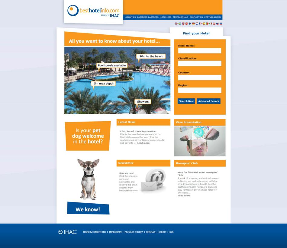 Best Hotel Info - Home Page