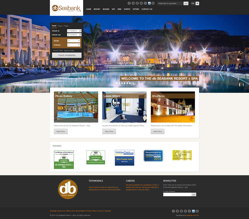 db Hotels & Resorts - db Seabank Resort + Spa