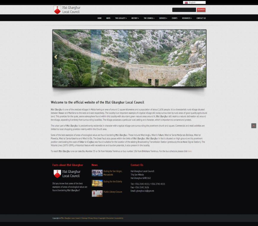 Gharghur Local Council - Home Page Maltese