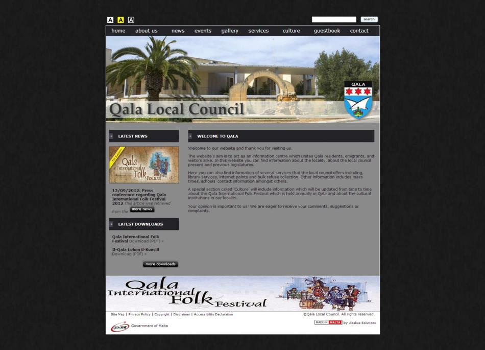 Qala Local Council - Home Page