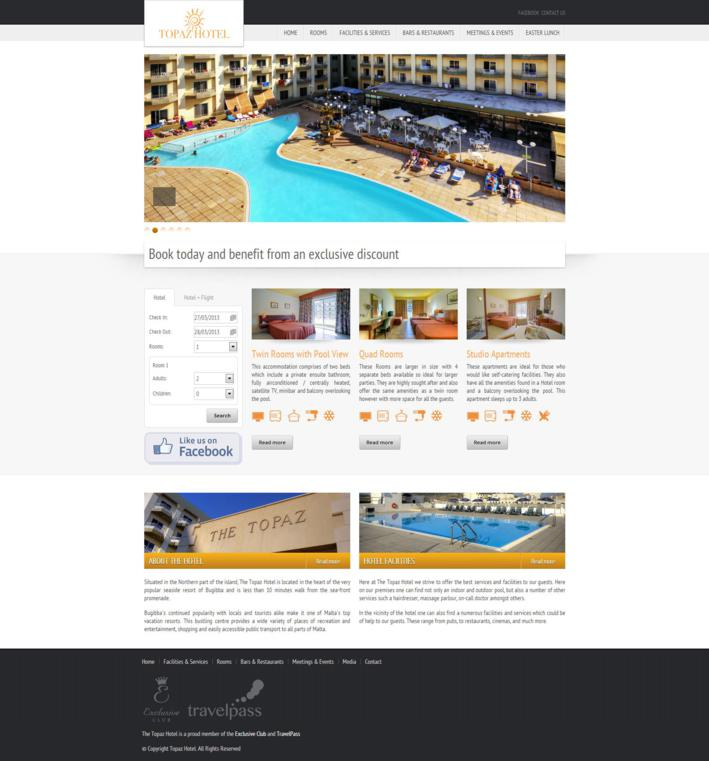 Topaz Hotel - Home Page