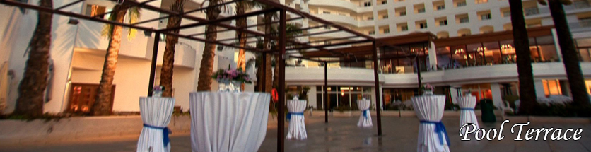 Weddings Pool Terrace db San Antonio