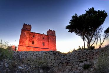 The Red Tower, limits of Mellieha